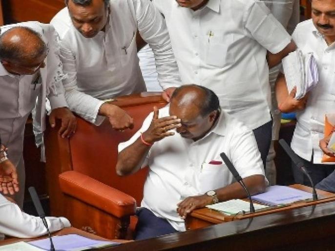 HD Kumaraswamy accidental cm of Karnataka but not a kingmaker | ''किंग बनूंगा, किंगमेकर नहीं'', कर्नाटक विधानसभा चुनाव के दौरान कुमारस्वामी का दिया ये बयान सच हो गया