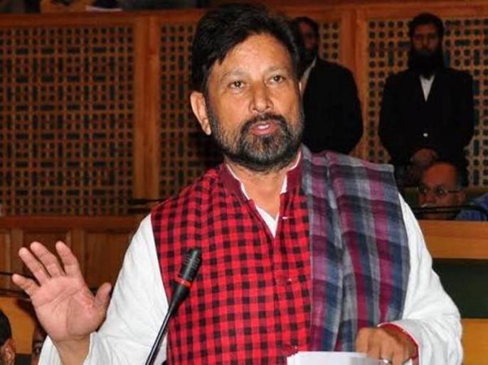 Former BJP leader Lal Singh will fight for two Lok Sabha seats in Jammu | पूर्व भाजपा नेता लाल सिंह जम्मू की दोनों लोकसभा सीटों से लड़ेंगे चुनाव