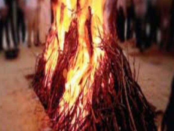 Daughter jumped into burning pyre after father's death from Corona virus | राजस्थान की दिल दहलाने वाली घटना, कोरोना वायरस से पिता की मौत के बाद बेटी जलती चिता में कूदी