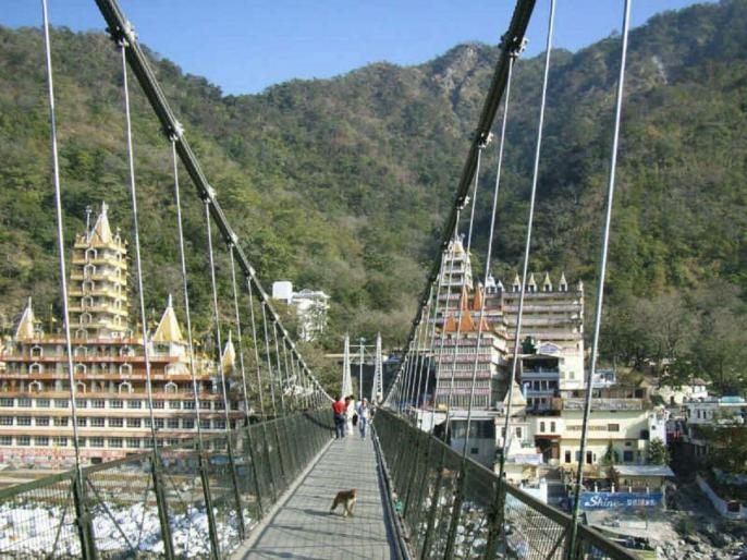 Lakshman Jhulla bandh, CM Rawat said for security reasons in Rishikesh - construction of alternative bridge soon | ऋषिकेश में सुरक्षा कारणों से लक्ष्मण झूला बंद, सीएम रावत बोले- वैकल्पिक पुल का निर्माण जल्द