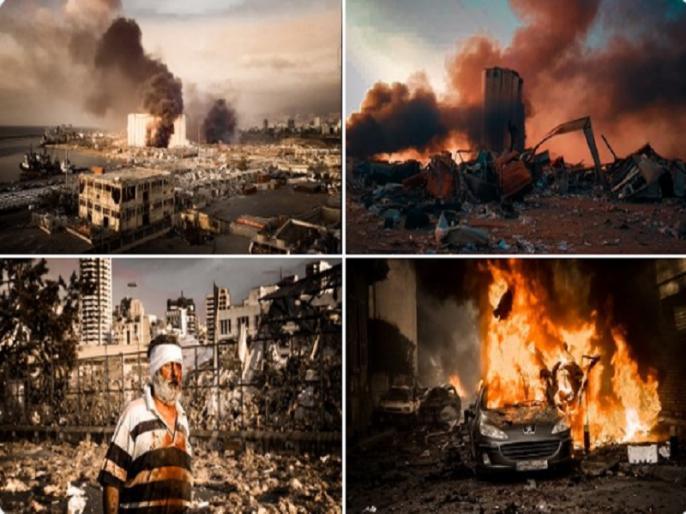 Beirut explosion: Lebanon Beirut explosion 27 dead 2,500 wounded all live updates | VIDEO: लेबनान की राजधानी बेरूत में बड़ा धमाका, 73 लोगों की मौत, 3,700 लोग घायल