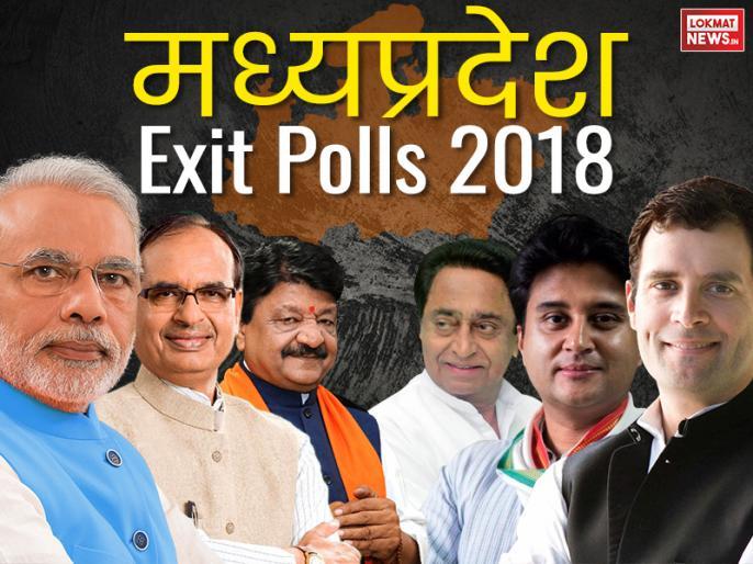 Madhya Pradesh Exit Polls 2018 as per Chanakya survey, India Today Karvy, ABP: Congress BJP lead trail   मध्यप्रदेश Exit Polls 2018 में दावा: मध्य प्रदेश में कांग्रेस-बीजेपी में कांटे की टक्कर, जानें सीटों का पूरा आंकड़ा