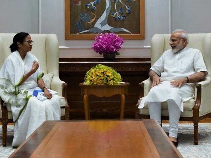 Meeting with PM Modi was good, discussed changing name of West Bengal to 'Bangla': Mamta Banerjee | पीएम नरेंद्र मोदी से मिलकर ममता बनर्जी ने कहा- मीटिंग बढ़िया रही, पश्चिम बंगाल का नाम 'बांग्ला' करने पर हुई चर्चा