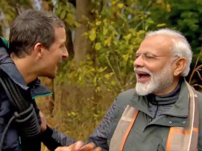 PM Modi Mann ki baat: people wanted to know how Bear Grylls understood my Hindi in Man vs Wild, here is the reason | 'मन की बात' में खुलासाः 'Man sv Wild' कार्यक्रम में बेयर ग्रिल्स ने आखिर कैसे समझी पीएम मोदी की हिंदी?