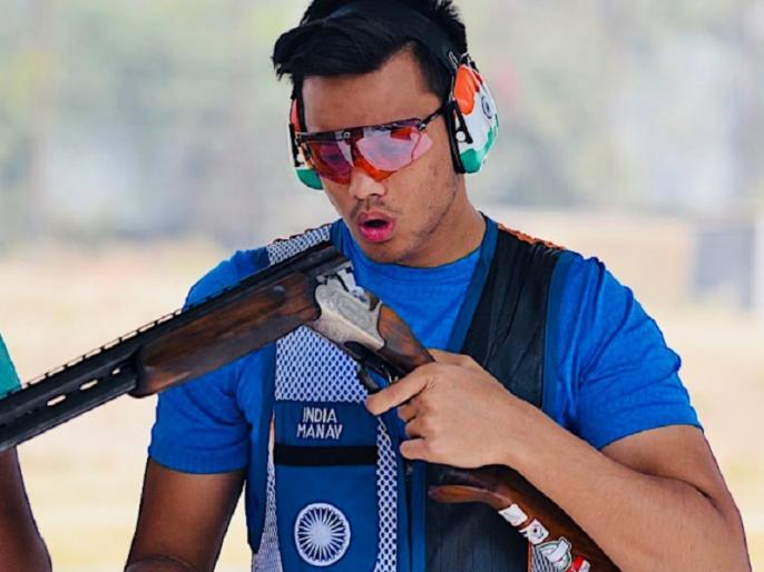 khelo india youth games 2019 manavaditya rathore and manisha keer wins gold medal | खेलो इंडिया: राज्यवर्धन सिंह राठौड़ के बेटे ने शूटिंग में जीता गोल्ड, विमेंस स्पर्धा में मछुआरे की बेटी ने किया कमाल