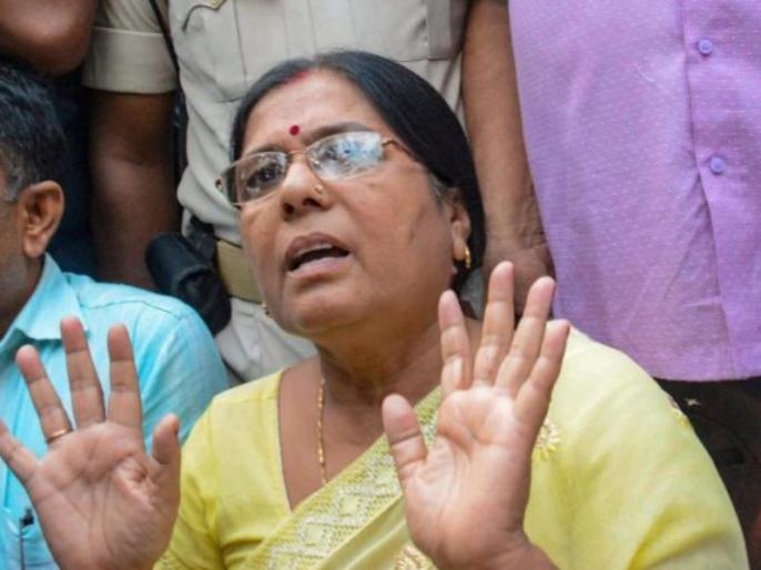 Muzaffarpur shelter home case: Former Bihar Minister Manju Verma surrenders in a Begusarai Court | मुजफ्फरपुर शेल्टर होम कांड: फरार चल रहीं बिहार की पूर्व मंत्री मंजू वर्मा ने किया सरेंडर