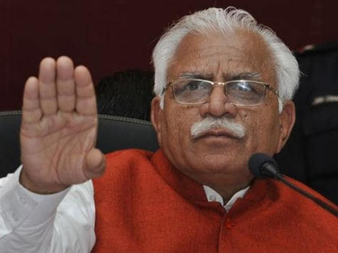Opponents first used to make fun of him by saying 'clumsy', seeing the work of the government and started saying 'players': Khattar | प्रतिद्वंद्वी पहले 'अनाड़ी' कहकर मजाक उड़ाते, सरकार का कामकाज देखकर 'खिलाड़ी' कहने लगेः खट्टर