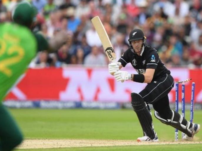 ICC World Cup 2019: Martin Guptill hit-wicket vs South Africa, makes unwanted record | CWC 2019: मार्टिन गप्टिल बने इस अंदाज में आउट होने वाले पहले किवी बल्लेबाज, अपने नाम दर्ज किया अनचाहा रिकॉर्ड