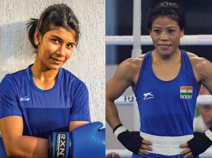 Give me a chance against Mary Kom: Nikhat Zareen | ओलंपिक क्वालिफायर्स के लिए मैरी कॉम को टक्कर देना चाहती है ये बॉक्सर, खेल मंत्री को लेटर लिख की ये मांग