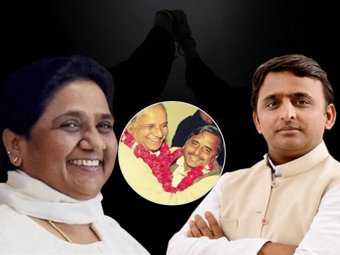 BSP Chief Mayawati and Samajwadi Party Chief Akhilesh Yadav to address a joint press briefing in Lucknow 12 january | उत्तर प्रदेशः अखिलेश और मायावती की साझा प्रेस कांफ्रेंस कल, बढ़ सकती है बीजेपी की मुश्किलें