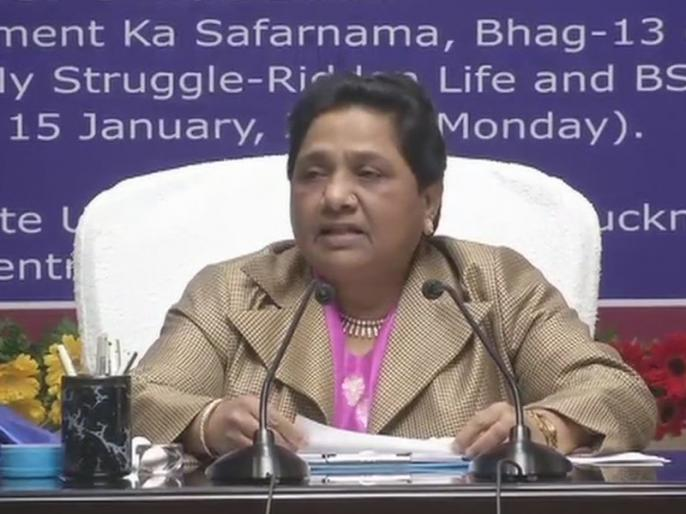bsp chief mayawati twitter reaction on modi cake remarks | मोदी की केक वाली टिप्पणी पर मायावती ने कसा तंज, लिखा- यह बात करना पीएम की ''निरंकुशता'' को जाहिर करता है