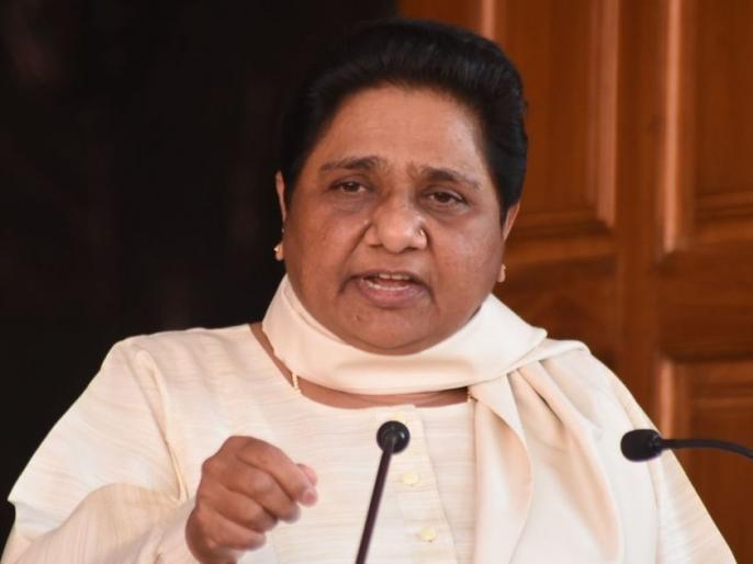 Mayawati slams Congress, BJP says no difference between MP and UP govt? | मायावती ने बीजेपी के साथ-साथ कांग्रेस पर भी साधा निशाना, कहा- UP और MP में सरकारी आतंक है