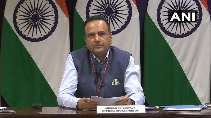 INDIA-Pakistan not send any message talksMinistry of External Affairs PM Imran Khan's advisor claims 'misleading' and 'concocted'   भारत ने पाक को कोई संदेश नहीं भेजा,विदेश मंत्रालय ने कहा- पीएम इमरान खान केसलाहकारका दावा 'भ्रामक'और'मनगढ़ंत'