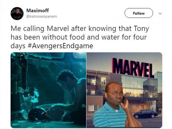 Marvel Studios Avengers 4 Endgame trailer out interesting memes trending on twitter and instagram   Avengers: Endgame के ट्रेलर पर बन रहे हैं मीम, सोशल मीडिया पर लोग उड़ा रहे हैं मजाक