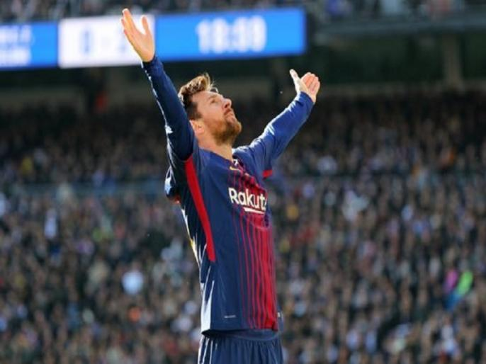 lionel messi becomes first player to score 400 goals in la liga   मेसी बने ला लीगा में 400 गोल करने वाले पहले फुटबॉलर, बार्सिलोना की धमाकेदार जीत