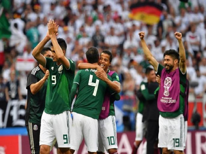 Image result for लोजानो के गोल से मेक्सिको ने हासिल की जीत]