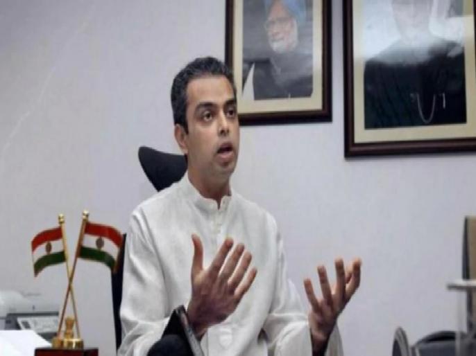 Maharashtra: Governor should invite NCP-Congress to form government, says Milind Deora | महाराष्ट्र: मिलिंद देवड़ा की मांग, 'राज्यपाल को देना चाहिए कांग्रेस-एनसीपी को सरकार बनाने का न्योता'