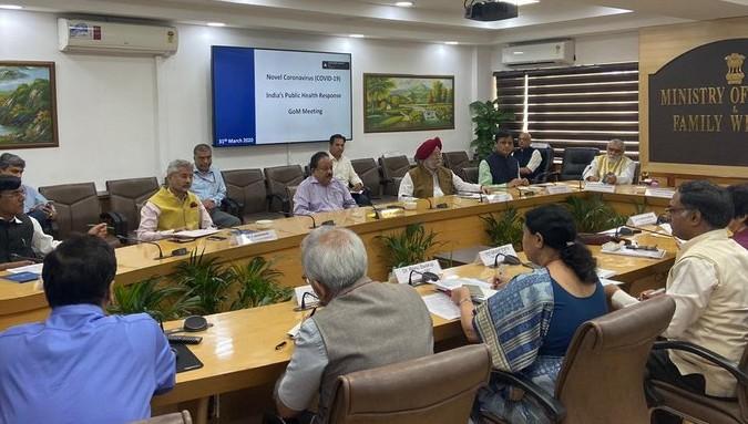 Group of Ministers meet today on Nizamuddin Markaz issue, a detailed briefing given to ministers | निजामुद्दीन मरकज़ मुद्दे पर आज ग्रुप ऑफ मिनिस्टर्स की हुई बैठक, मंत्रियों को दी गई एक विस्तृत ब्रीफिंग