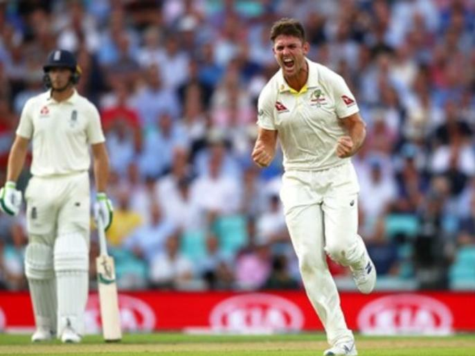Ashes 2019 Mitchell Marsh takes maiden five-wicket haul, as England all out on 294 in 1st innings in 5th test | Ashes 2019: मिशेल मार्श ने पहली बार झटके पारी में 5 विकेट, इंग्लैंड पहली पारी में 294 पर सिमटा