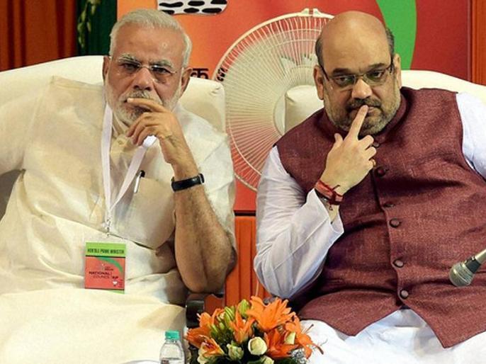 Lal Krishn Advani and Murli Manohar Joshi reached, will Narendra Modi get support | बीजेपी राष्ट्रीय कार्यकारिणी में मोदी-शाह की तूती, मार्गदर्शक मंडल कैसे स्वीकार करेगा?