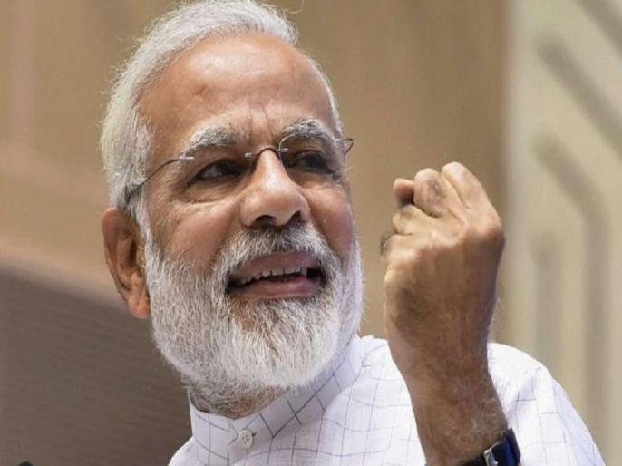 pm Narendra Modi says why his face skin glowing in Rashtriya Bal Puraskar watch video | 'चेहरा इतना चमकदार कैसे?', पीएम मोदी ने जवाब दिया- 'मेहनत करता हूं और उसी पसीने से मालिश करता हूं' देखें वीडियो