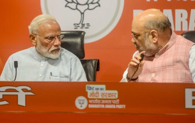 PM Narendra Modi first press conference but he didn't take any conference | पीएम मोदी की प्रेस कॉन्फ्रेंस: अंजना ओम कश्यप ने प्रधानमंत्री से पूछना चाहा सवाल, मिला यह दो टूक जवाब