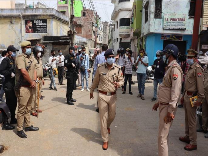 Moradabad stone-pelting: 17 held including 7 women for attack on medical team and police | मुरादाबाद: पुलिस और मेडिकल टीम पर हमला करने के मामले में 17 लोग गिरफ्तार, 7 महिलाएं भी शामिल, ड्रोन की मदद से हुई आरोपियों की पहचान