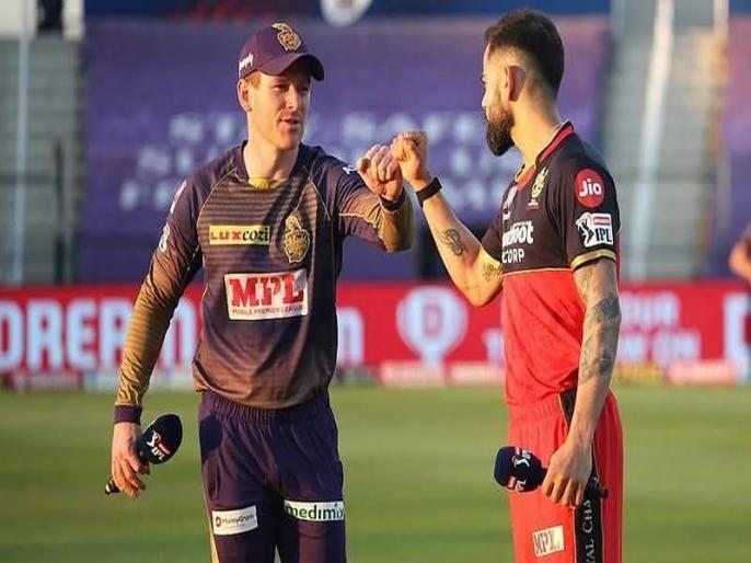 IPL 2021 RCB vs KKR Dream11 Team Prediction Playing 11 virat kohli won toss   IPL 2021, RCB vs KKR: विराट कोहली ने जीता टॉस, मैक्सवेल-डिविलियर्स के बल्ले से हो सकती है रनों की बरसात
