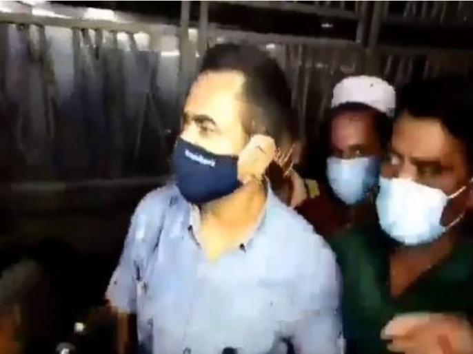 Sushant Suicide Case: Mumbai Police misbehaves with Patna Police! Video going viral on social media   सुशांत सुसाइड केस: मुंबई पुलिस ने पटना पुलिस संग की बदसलूकी! सोशल मीडिया पर वायरल हो रहा वीडियो