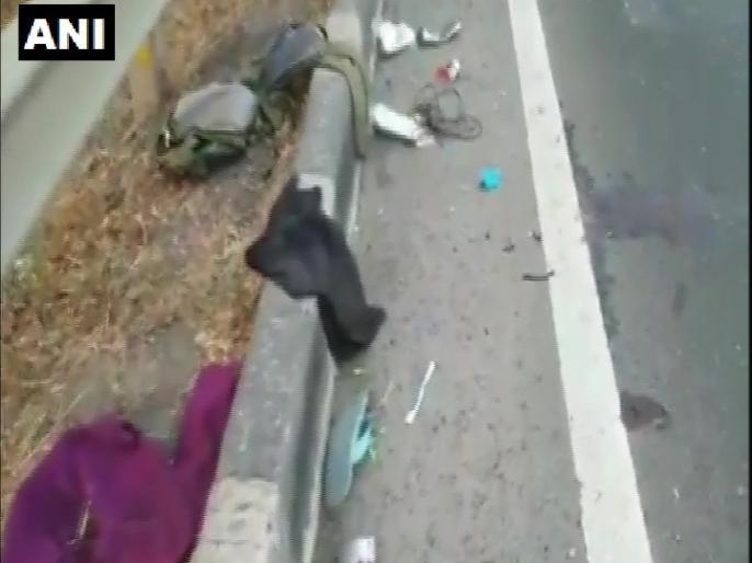 Maharashtra Lockdown continues country Tempo crushes four migrant laborers foot death three others injured | Maharashtra ki khabar:देशभर में जारी लॉकडाउन,पैदलगांव जा रहे चार प्रवासी मजदूर कोटेंपो ने कुचला, मौत,तीन अन्य घायल