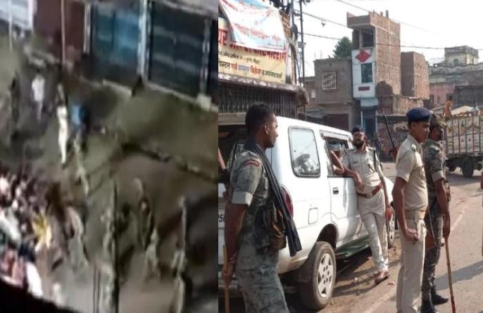 Bihar MungerPolice devotees clash Durga statue immersion one killedmore than six injured100 custody | बिहारःमुंगेर में दुर्गा प्रतिमा विसर्जन के दौरान पुलिस और श्रद्धालुओं में भिड़ंत, एक की मौत, छह से ज्यादा जख्मी,100 हिरासत में