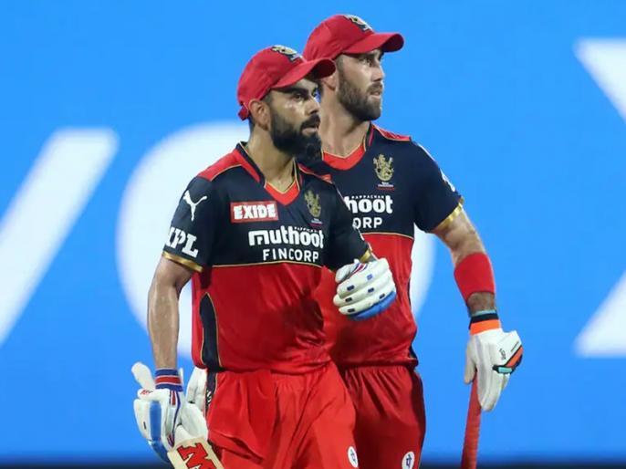 SRH Vs RCB IPL 2021 Match 6 glen maxwell hit half century after five years | IPL 2021: ग्लेन मैक्सवेल के बल्ले से पांच साल बाद आईपीएल में निकला अर्धशतक, विराट कोहली ने इस तरह बढ़ाया हौसला