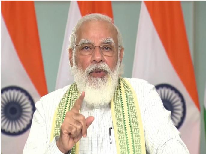 narendra modi inaugurates 1.75 lakh houses built under PM Awas Yojana in Madhya Pradesh | पीएम मोदी ने मध्य प्रदेश के 1.75 लाख परिवारों का कराया गृह प्रवेश, आज आपको मिला अपने सपनों का घर