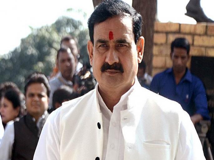 Madhya Pradesh bhopal Congress bjp narottam mishra attack mp digvijay singh ram mandir | कबीरदास की उल्टी वाणी, बरसे कंबल भीजे पानी,नरोत्तम बोले-दिग्विजय जीकम से कम भगवान राम का नाम तो लिया...!