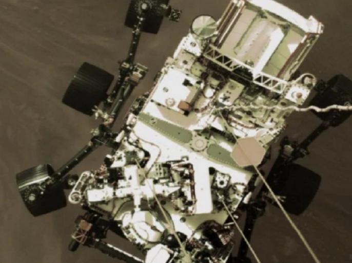 NASA released video of rover landing on Mars | NASA Perseverance Rover Mars Landing: नासा ने मंगल पर उतरते रोवर का वीडिया किया जारी