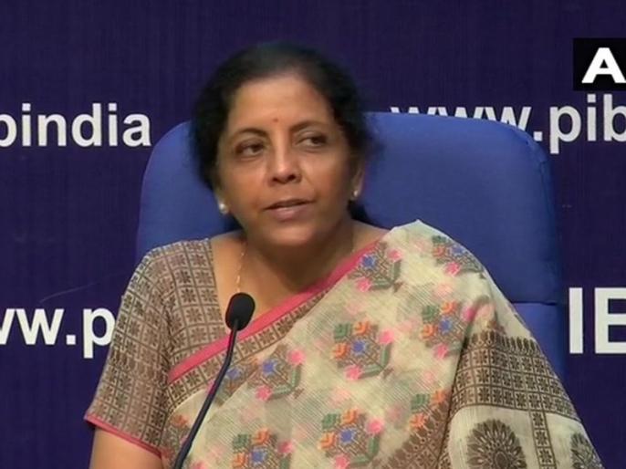 FM Nirmala Sitharaman announces EconomicPackage: announced to give 40 thousand crores for MNREGA | वित्त मंत्री निर्मला सीतारमण ने मनरेगा के लिए 40 हजार करोड़ देने का किया ऐलान