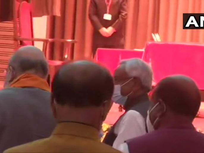 Nitish Kumar takes oath Chief Minister Bihar seventh time his fourth consecutive term | बिहार के नए कैबिनेट पर सीएम नीतीश बोले-नया मौका मिला है, हर बार कुछ न कुछ होता...