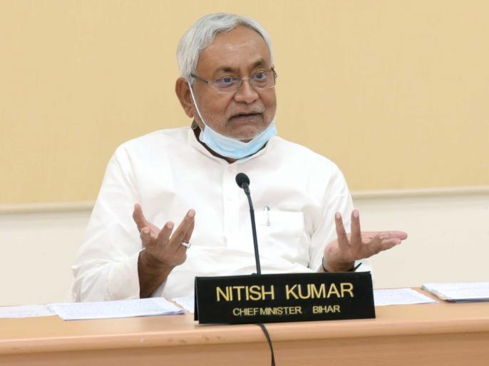 Bihar assembly elections 2020 cm nitish kumar lalu yadav rabri rjd jdu son daughter patna | Bihar assembly elections 2020: सीएमनीतीश ने लालू-राबड़ीराज पर बोलाहमला,पति-पत्नी और बेटा-बेटी यही परिवार