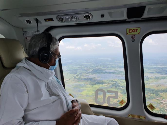 Flood in Bihar 16 districts bad condition 60 lakh people affected CM Nitish took stock | बिहार में बाढ़ः16 जिलों का बुरा हाल, 60 लाख लोग प्रभावित, सीएम नीतीश ने लिया जायजा