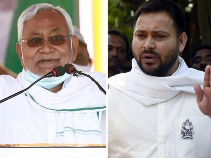 Bihar CM Nitish Kumar Attacks RJD Leader Tejashwi Yadav In Assembly | बिहार: सीएम नीतीश कुमार ने गिनाई सरकार की उपलब्धियां, तेजस्वी यादव से कहा- बैठ जाओ, तुम्हें तो गोद में खिलाया है