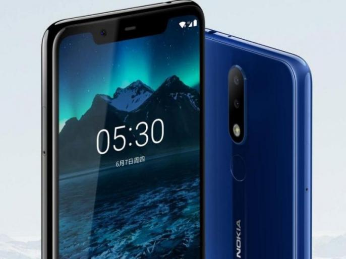 Nokia 5.1 Plus smartphone on offline sale from 15th January, Know the price and other details | Nokia 5.1 Plus स्मार्टफोन 15 जनवरी से बिकेगा ऑफलाइन, कीमत हुई कम