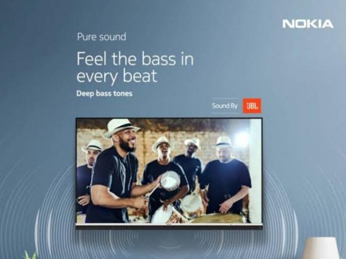 Nokia launches Smart TV with 55-inch 4K dispaly and JBL audio in India | Nokia ने लॉन्च किया पहला 4K स्मार्ट टीवी, 55 इंच डिस्प्ले और डॉल्बी विजन फीचर्स से लैस