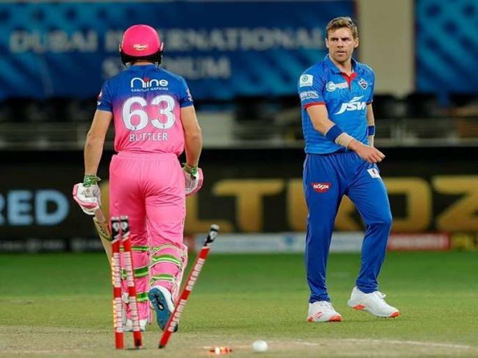Anrich Nortje bowled the fastest ball in Indian Premier League history | IPL 2020: इस गेंदबाज ने डाली IPL इतिहास की सबसे तेज रफ्तार की गेंद, लेकिन खुद को नहीं चला पता