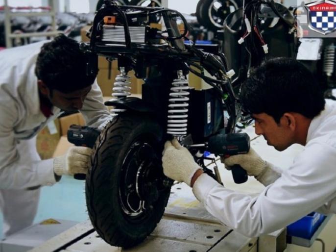 Okinawa Oki100 First 100% desi electric motorcycle to cost around Rs 1 lakh | अब आएगी 100 परसेंट 'देशी' इलेक्ट्रिक बाइक ओकिनावा, जानें कीमत और फीचर्स