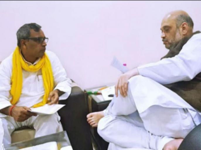 Om Prakash Rajbhar gives 100 days ultimatum to amit shah to save nda alliance | लोकसभा चुनाव से पहले NDA को एक और झटका, इस पार्टी ने अमित शाह को दिया 100 दिन का अल्टीमेटम!