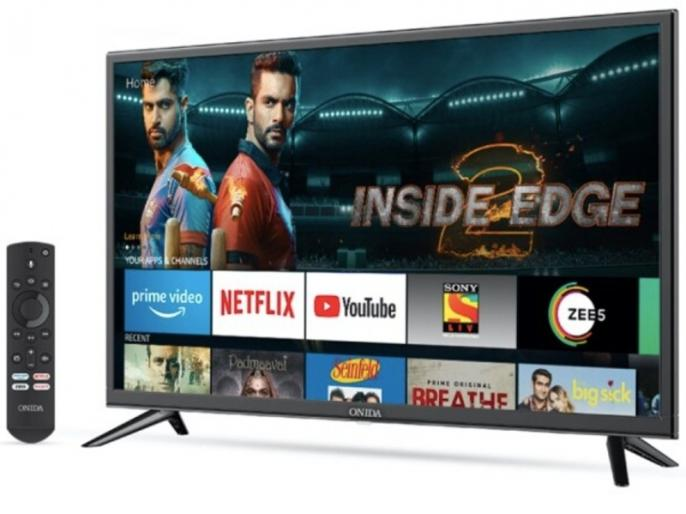 Amazon Fire TV Edition Smart TVs Launched in India with Onida, Price Starts at Rs. 12,999 | Onida के दो Smart TV भारत में लॉन्च, 20 दिसंबर से शुरू होगी बिक्री