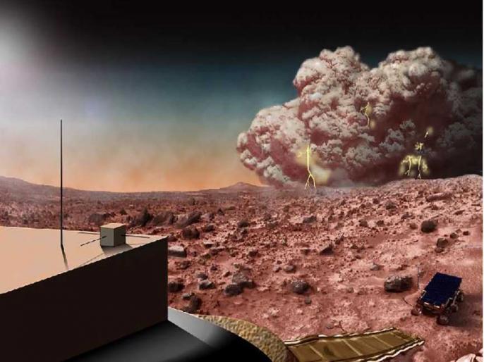 NASA Opportunity rover halted over Martian dust storm   मंगल ग्रह पर आई धूल भरी आंधी, नासा की इस वजह से बढ़ गई चिंताएं