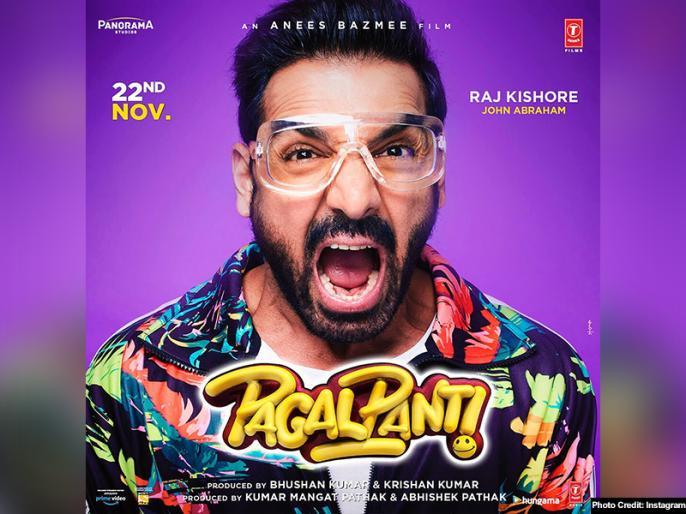 john abraham film pagalpanti box office collection day 6 | Pagalpanti Box Office Collection Day 6: जॉन अब्राहम की 'पागलपंती' का छठे दिन भी जमकर कमाई, जानें अब तक का कलेक्शन