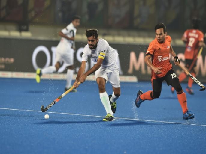 hockey world cup 2018 group d malaysia holds pakistan draw by 1 1 | हॉकी वर्ल्ड कप: मलेशिया ने ड्रॉ पर रोक पाकिस्तान की बढ़ाई मुश्किल, क्वॉर्टर फाइनल की राह मुश्किल