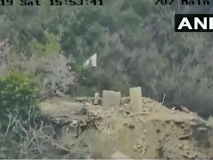 Jammu Kashmir: Pakistani base in Akhnoor sector destroyed, Indian Army shayari video | भारतीय सेना ने तबाह किया पाकिस्तानी बेस, वीडियो जारी कर दिया प्रूफ